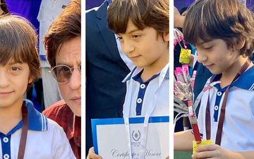 Shah Rukh Khan's Son Abram Wins Gold, Silver And Bronze At School Race; Shares A Photo With His Champ