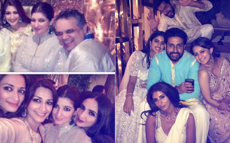 INSIDE PICS: Twinkle Khanna, Navya Naveli Nanda,  Sonali Bendre Sizzle At Abu Jani & Sandeep Khosla's Diwali Bash
