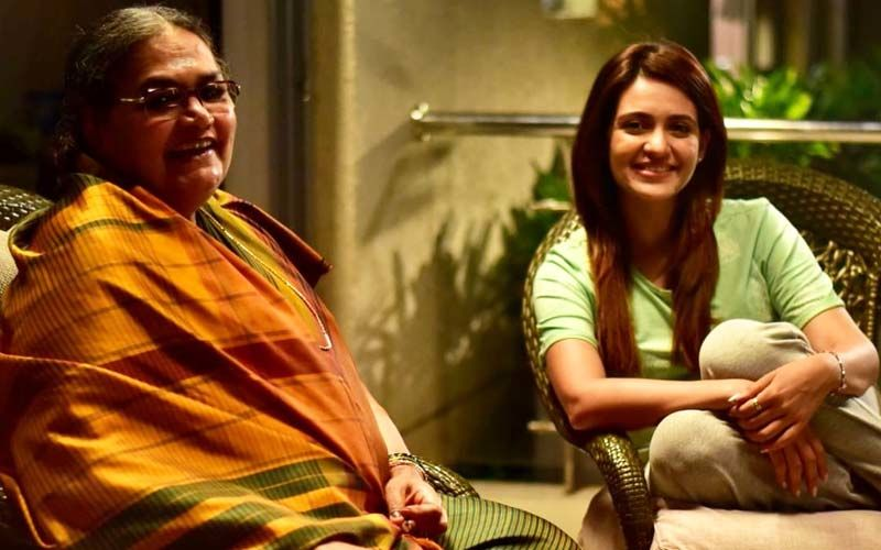 Actress Priyanka Sarkar Shares Picture With Usha Uthup, Talks About Her Next Project 'Filter Coffee Liquor Cha'