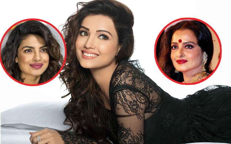 Adaa Khan Idolises Rekha And Priyanka Chopra!