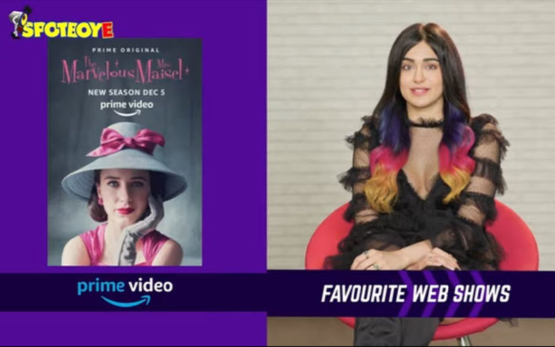 JUST BINGE: Guess Which Web Show Is Adah Sharma Bingeing On?