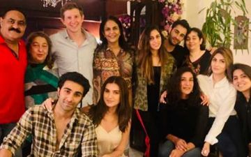 Adar Jain's Girlfriend Tara Sutaria Is Now Part Of Jain-Kapoor Famjam - Photo Proof