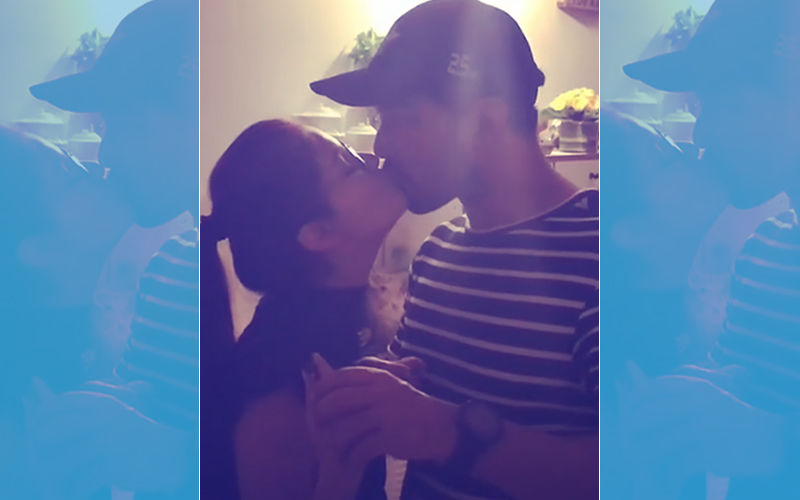 Birthday Girl Rubina Dilaik Thanks Hubby Abhinav Shukla With A Hot Liplock, Watch Video
