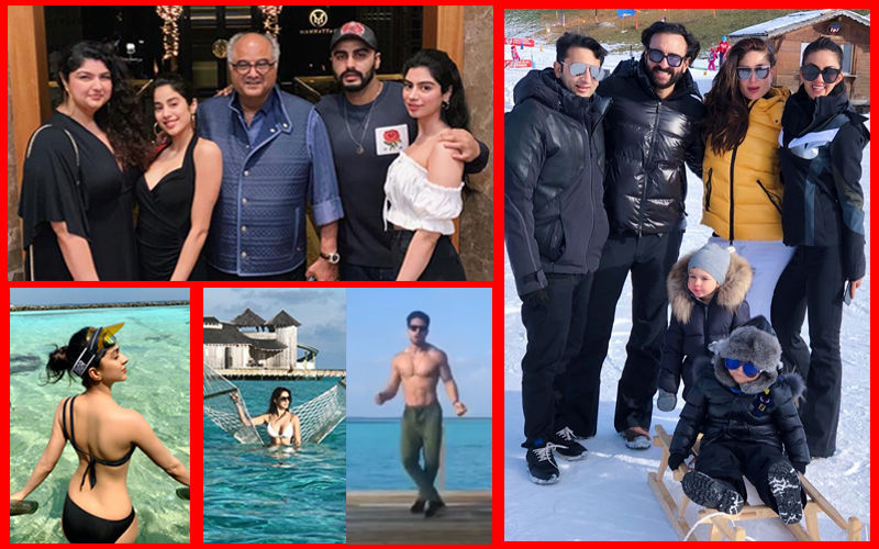 Here's Where Your Favourite Celebs Are Vacationing On New Year's