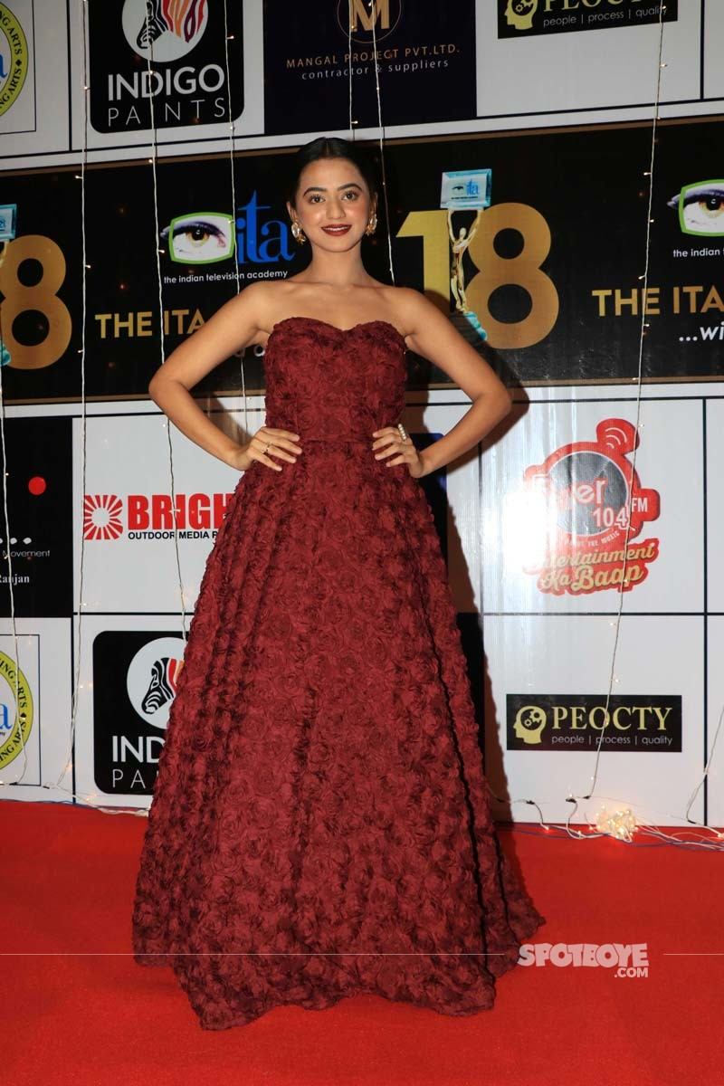 Helly Shah At ITA Awards 2018