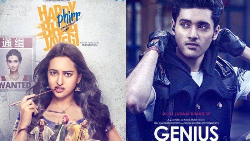 Happy Phirr Bhag Jayegi, Genius; Box-Office Collection, Day 2: Sonakshi Sinha Lengthens Strides, Uttkarsh Sharma Still Stranded At The Gates