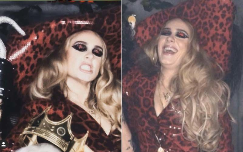 Adele Dons A Sultry Captain Hook Costume For Halloween Bash, Shows Off Her New Slim Waist After Her Shocking Transformation