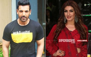 John Abraham Once Took Buddy Raveena Tandon For A Spin On His New Motorbike In Between A Dinner Party- EXCLUSIVE