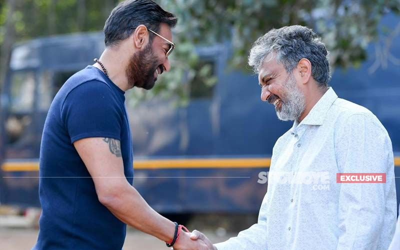 RRR: SS Rajamouli Is All Praise  For Ajay Devgn, 'I Needed An Actor Whole Country Would Believe In' - EXCLUSIVE