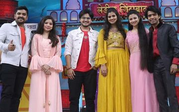Prathamesh Parab, Ritika Shrotri, Bhagyashree Milind, And Shubhankar Tawde On Chala Hawa Yeu Dya