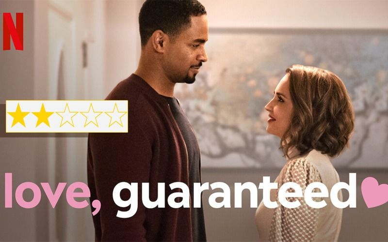 Love Guaranteed Movie Review: Routine Romcom Starting Rachael Leigh Cook And Damon Wayans Jr Redeemed By Smart Writing