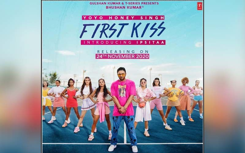 First Kiss By Honey Singh Featuring Ipsitaa Releasing On Nov 24