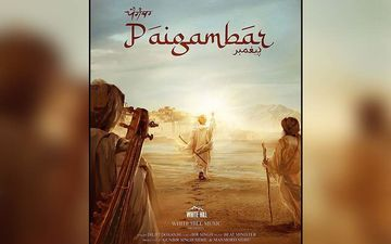 Diljit Dosanjh Shares Poster Of His Next Song'Paigambar'