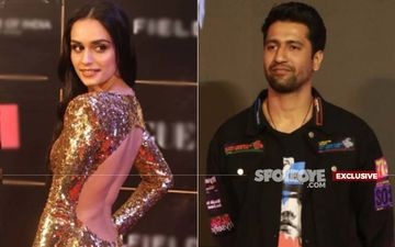 After Akshay Kumar's Prithviraj Manushi Chillar Shoots Her Next Yashraj Film With Vicky Kaushal At YRF Studios; Confirms A Co-Star-EXCLUSIVE