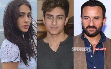 Sara Ali Khan's Brother Ibrahim Ali Khan All Set For His Bollywood Debut; Saif Confirms, 'I'd Like All My Children To Be In This Profession' - EXCLUSIVE