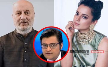 Besides Anupam Kher And  Kangana Ranaut, Little Support For Arnab Goswami In The  Film Industry - EXCLUSIVE