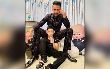 Gippy Grewal And Shinda's Father- Son Moments Are Goals