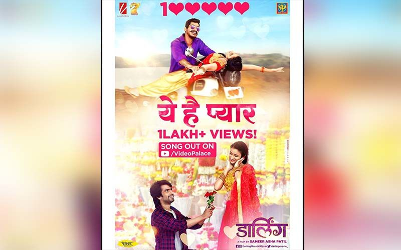 Yeh Hai Pyar: Prathamesh Parab And Ritika Shrotri Starrer Song From Darling Crosses 1 Lakh Views On YouTube