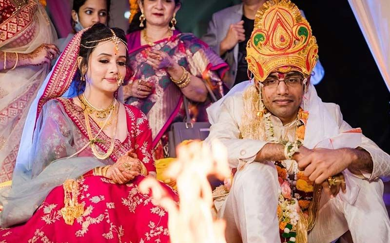 Murder 2 Actress Sulagna Panigrahi Ties The Knot With YouTuber Biswa Kalyan Rath -MARRIAGE PICTURES