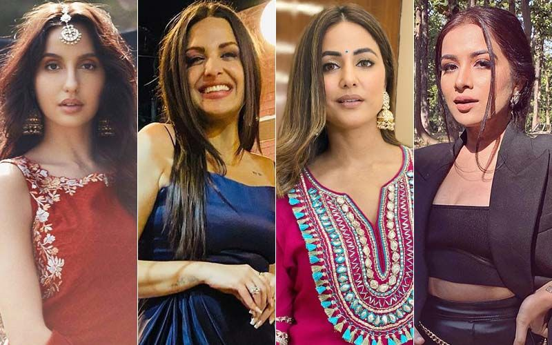 Fabulously HOT Or NOT: Nora Fatehi, Himanshi Khurana, Hina Khan And Sara Gurpal's Progressive OOTDs