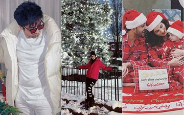 Christmas 2020: From Harrdy Sandhu, Sargun Mehta To Yuvraaj Hans - Pollywood Stars Unleash Festive Vibes