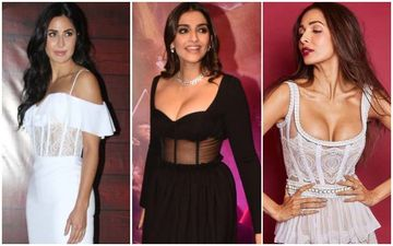 Katrina Kaif, Sonam Kapoor And Malaika Arora Set The HOT Trend Of Sheer Bodice Dresses!