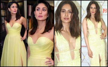 Kareena Kapoor Khan Or Rakul Preet Singh: Whose Version Of The Gaby Charbachy Gown Did You Like?