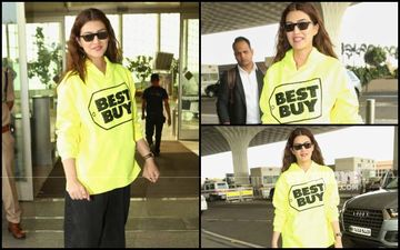 FASHION CULPRIT OF THE DAY: Kriti Sanon's 'Best Buy' Sweatshirt Is SADLY NOT The Best Buy!