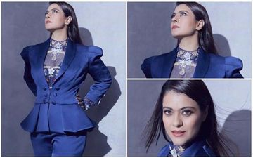 FASHION CULPRIT OF THE DAY: Kajol, Isn't That Pantsuit Too Stuffy?