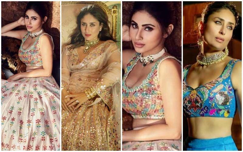 Mouni Roy Does A Kareena Kapoor Khan For A Bridal Shoot- Who Slayed It Better?