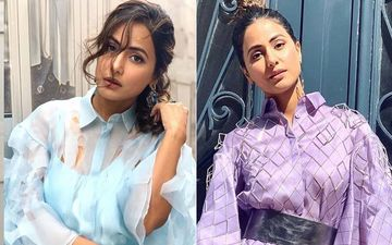 Hina Khan Shares A Heartwarming Video With An Audio Message As She Marks One Year To Her Cannes Film Festival Debut- WATCH