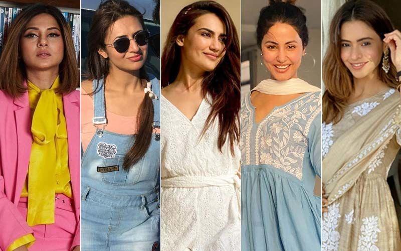 BEST DRESSED & WORST DRESSED Of The Week: Jennifer Winget, Divyanka Tripathi, Surbhi Jyoti, Hina Khan Or Aamna Sharif?