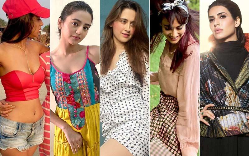 BEST DRESSED OR WORST DRESSED Of The Week: Nia Sharma, Helly Shah, Sanjeeda Shaikh, Surbhi Jyoti Or Karishma Tanna?