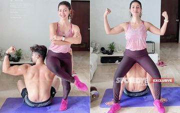 Debina Bonnerjee: 'Working Out At Home Will Be The New Normal For Me'- EXCLUSIVE Pictures With Gurmeet Chaudhary