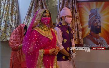 Manish Raisinghan-Sangeita Chauhaan Wedding: EXCLUSIVE PICS Of The Bride And Groom From The Gurudwara