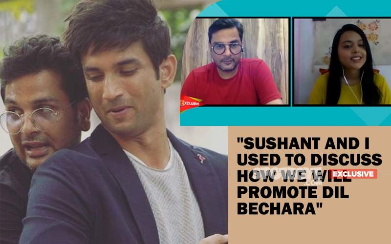 Sushant Singh Rajput's Friend Mukesh Chhabra: 'Unfortunately He Wasn't Able To See The Final Product Of Dil Bechara'-EXCLUSIVE