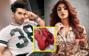 Paras Chhabra Slams Ex-GF Akanksha Puri Over  'Borrowed, Not Bought Shoes'; Lashes Out, 'Truth Is Out'