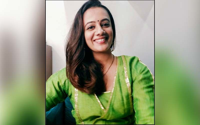 Spruha Joshi Sways Away In Grace With This Red Gown Flaunting Her Style