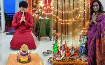 Get A Glimpse Of Gauri Ganpati Visarjan With Marathi Celebrities