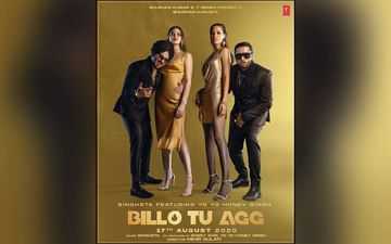 Honey Singh Shares BTS Video Of His Latest Released Song Billo Tu Agg