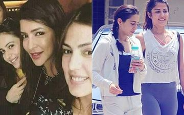 Netizens Dig Out Old Pictures Of Rhea Chakraborty With Sara Ali Khan, Rakul Preet Singh After Reports Of Rhea's Confession To NCB