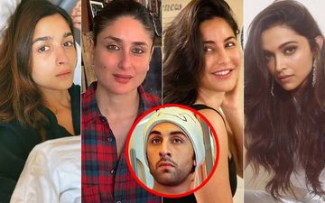 Looking At Ranbir Kapoor's Cutest Clicks With Alia Bhatt, Kareena Kapoor, Katrina Kaif, And Deepika Padukone On His 38th Birthday