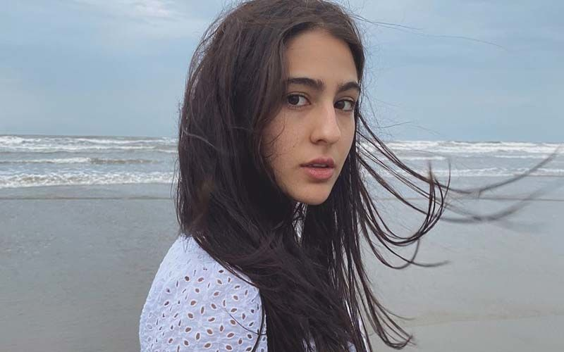 Sara Ali Khan's Pictures Chilling In The Pool Wearing A Sexy Pink Bikini Will Leave You Green With Envy