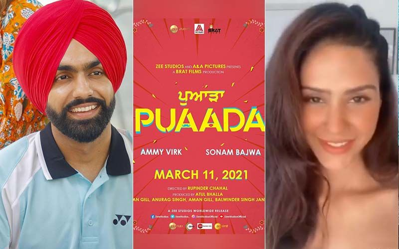 'Puaada' Will Be The First Punjabi Film To Hit The Theatres After COVID 19 Pandemic, Starring Ammy Virk And Sonam Bajwa