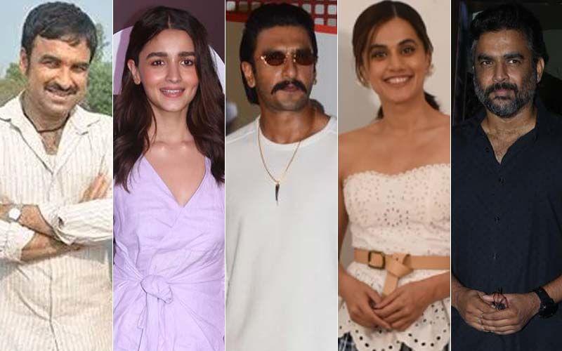 Pankaj Tripathi, Alia Bhatt, Ranveer Singh, Taapsee Panni, R Madhavan; 5 Actors Playing Award-Worthy Real-life Characters In 2021