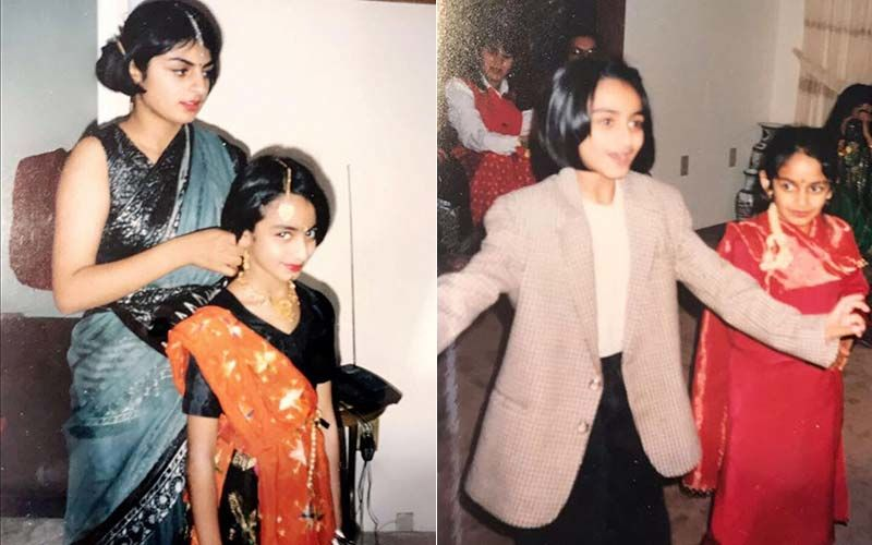 Sibling Goals! Neeru Bajwa Takes A Trip Down Memory Lane With Rubina And Sabrina Bajwa; Shares Adorable Childhood Pictures