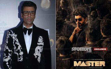 Karan Johar Never Bid For Master Remake; Source Says He Is 'Not Interested In Remakes'- EXCLUSIVE