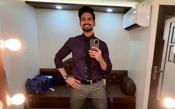 Bhushan Pradhan Starts New Shoot Says 'Happy Valentine's My Love' For The Camera