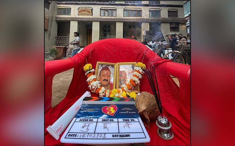 Three: Check Out Pictures From The Mahurat Shot Of Ravi Jadhav's Next Starring Prathamesh Parab And Hruta Durgule
