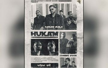 Karan Aujla's New Single 'Hukam' Exclusive With 9X Tashan!